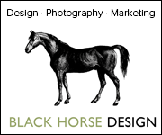 Black Horse Design (Worcestershire Horse)